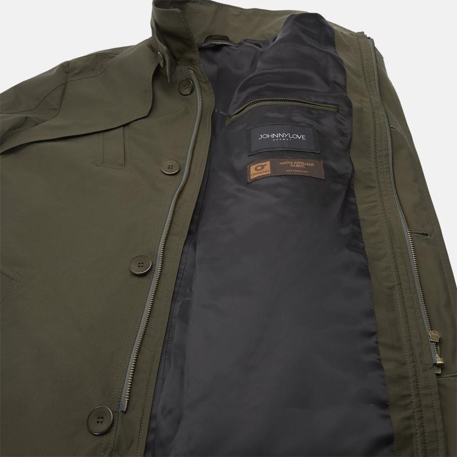 COHEN 001B - jakke - Jakker - Regular fit - DARK OLIVE - 8